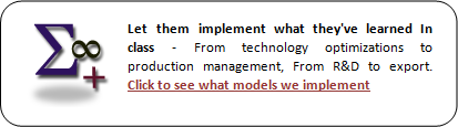Economic Models , R&D, Export, Production Managment